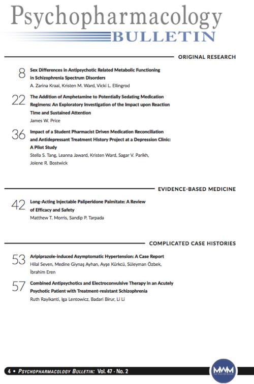Table of Contents, Vol 47, No. 2, 2017