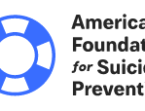 AFSP Reiterates New Suicide Demographics from the CDC
